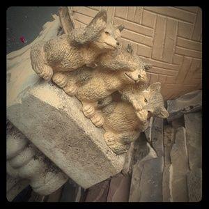 antique foxes